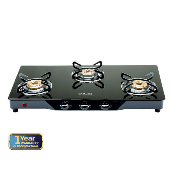 Armo GL 3B AI BLK Glass Cooktop