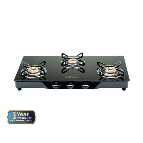 Armo GL 3B BLK Glass Cooktop
