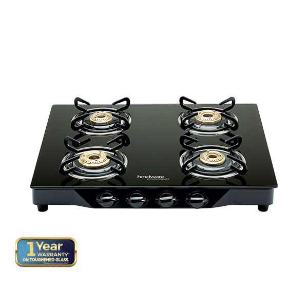 Armo GL 4B BLK  Glass Cooktop