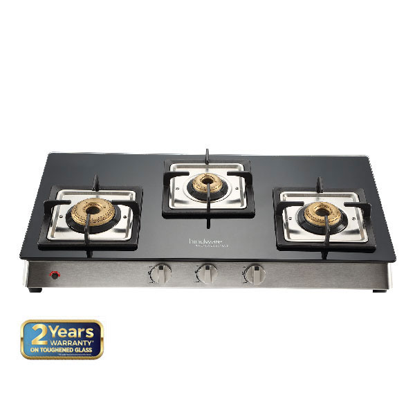 Lorenzo 3B AI Glass Cooktop