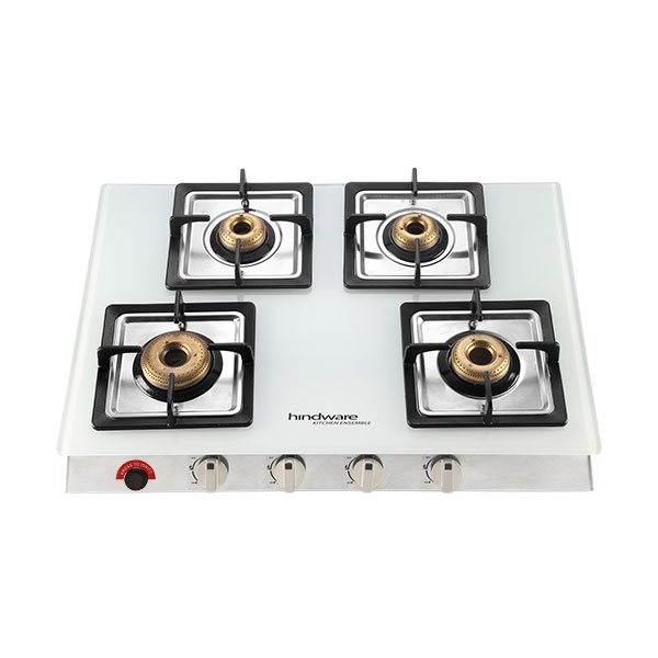 Lorenzo 4B AI Glass Cooktop
