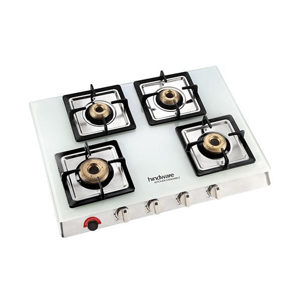 Lorenzo 4B AI Glass Cooktop