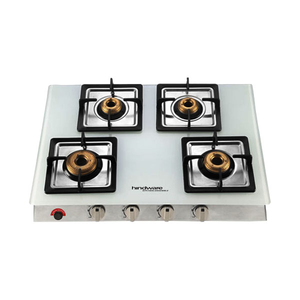 Lorenzo White 4B AI Glass Cooktop