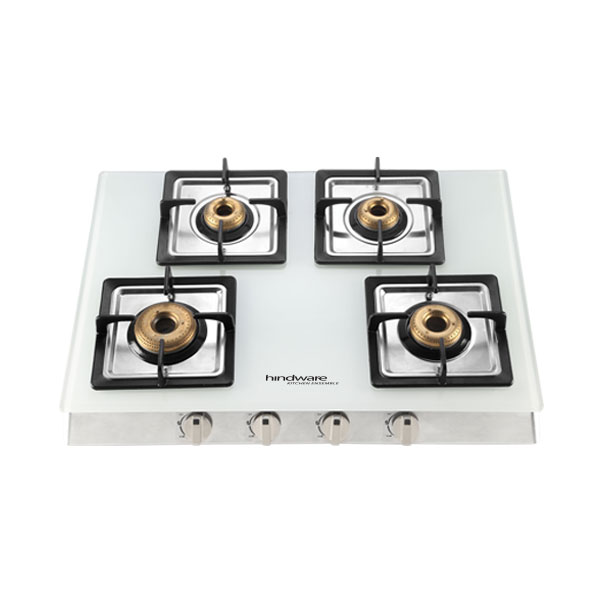 Lorenzo White 4B Glass Cooktop