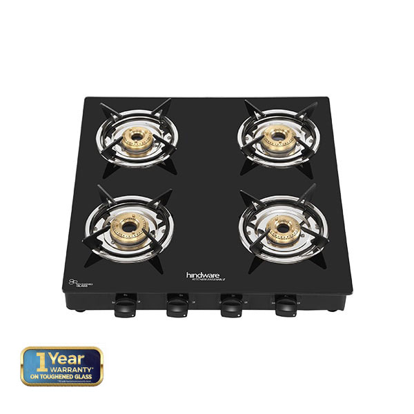 Brio Plus 4B Glass Cooktop