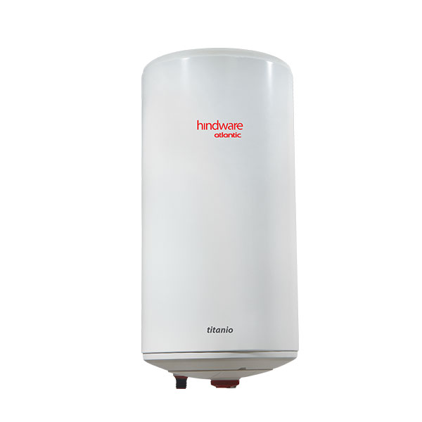 Hindware Atlantic Titanio Vertical 25 L, 2 kW Storage Water Heater