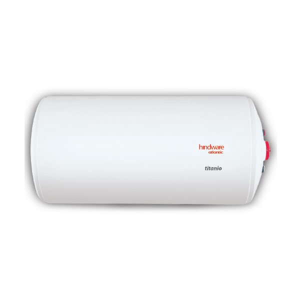 Hindware Atlantic Titanio Horizontal 25 L, 2 kW Storage Water Heater