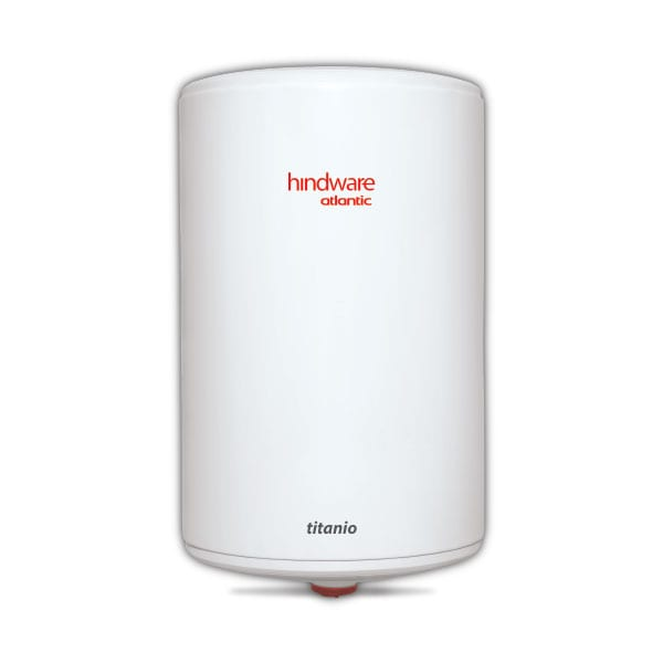 Hindware Atlantic Titanio Vertical 15 L, 2 kW Storage Water Heater
