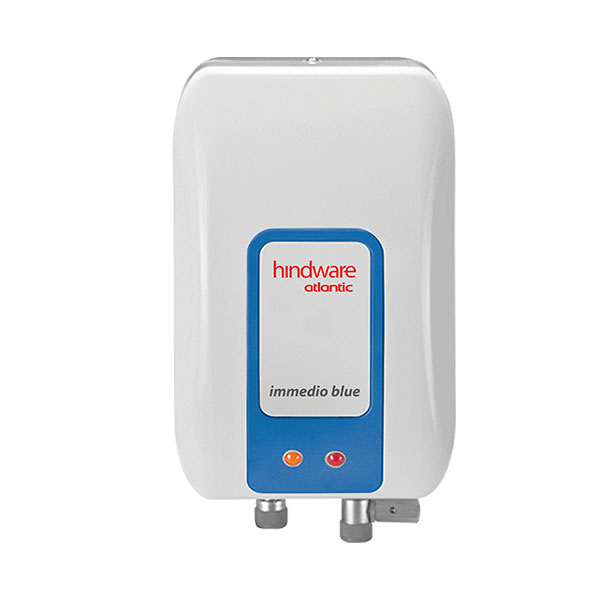 Hindware Atlantic Immedio Blue 3 L, 3 kW Instant Water Heater