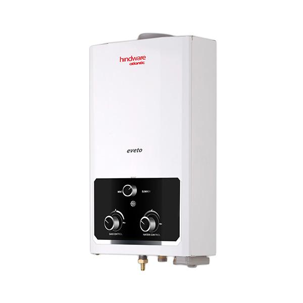Hindware Atlantic Eveto 6 L,1.2 kg Copper Heat Exchanger, LPG Gas Water Heater
